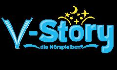 Logo - V-Story, die Hörspielbox