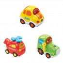 Tut Tut Baby Flitzer - Set 11 (Hubschrauber, Traktor, Auto)