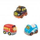 Tut Tut Baby Flitzer - Set 15 (Taxi, Reisebus, Cabrio)