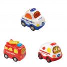 Tut Tut Baby Flitzer - Set 10 (Feuerwehr, Polizei, Krankenwagen)