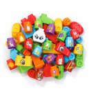 50 bunte Blöcke Erweiterungsset - BlaBlaBlocks